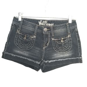 Wallflower slightly distressed shorts